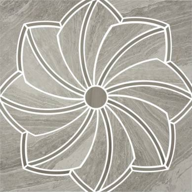 low pricing white water jet flower pattern natural marble flooring tiles