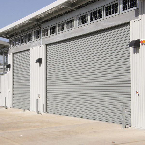 Industrial Galvanized Steel Rolling Shutter Door Featured Image