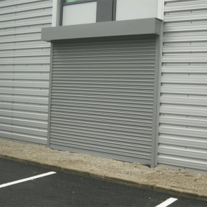 Industrial Galvanized Steel Rolling Shutter Door