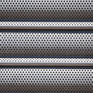Perforated Galvanized Steel Roller Shutter Door