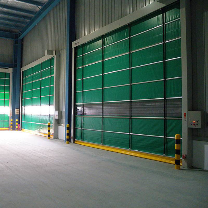 Factory Promotional Fabric Rapid Roller Up Door -