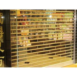 Commerical transparent jalusier Doors