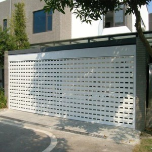 Perforated Aluminum Rolling Shutter Door