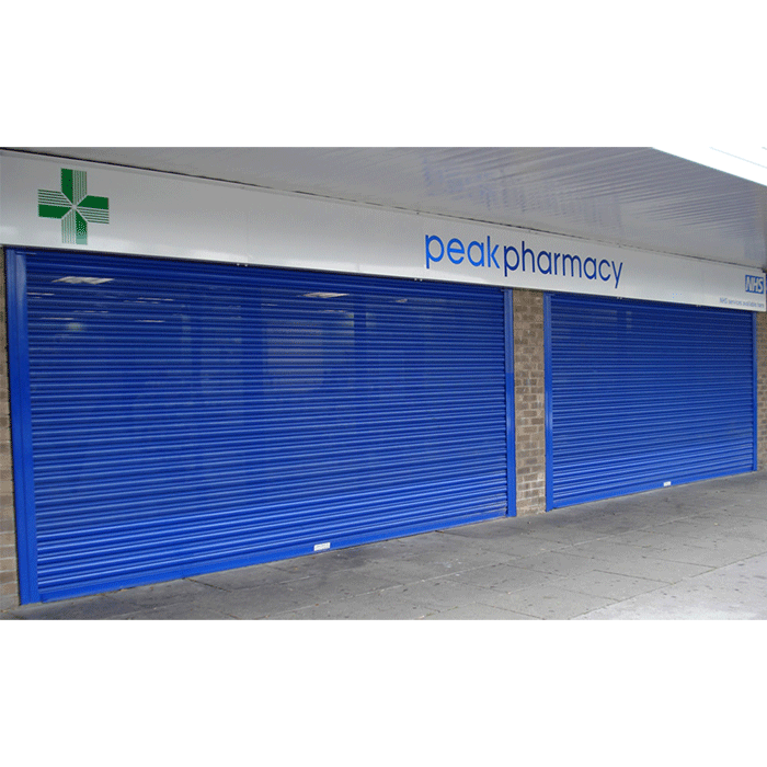 Perforated Galvanized Steel Roller Shutter Door Featured Image