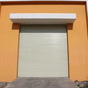 Industrial Galvanized Steel Rolling Shutter Door1