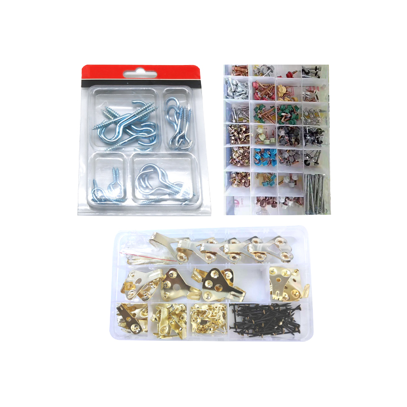8-Hardware Assortment Kit DIY Home Project Set