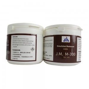 J.M. M-300  Emulsion remover for screen printing