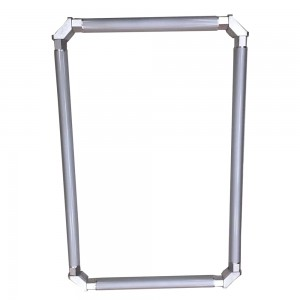 Self Stretching Roller aluminum Screen printing frame