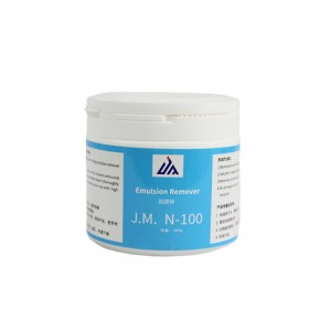 J.M. N-100  Emulsion remover for screen printing