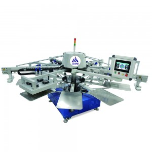 automatic silk screen printing machines -JM-4010