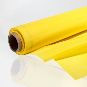 "305 Yellow Screen Mesh 39 Micron Thread - 50 ""x1m"