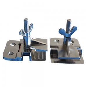 Hinge Clamp for Screen Printing