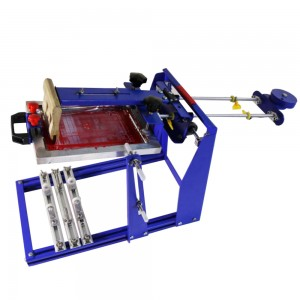 JM-MCP170B curved surface screen printing machine