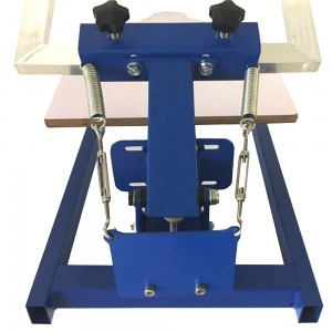 1 color 1 station screen printing machine