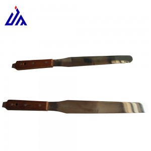 screen printing stainless steel spatula