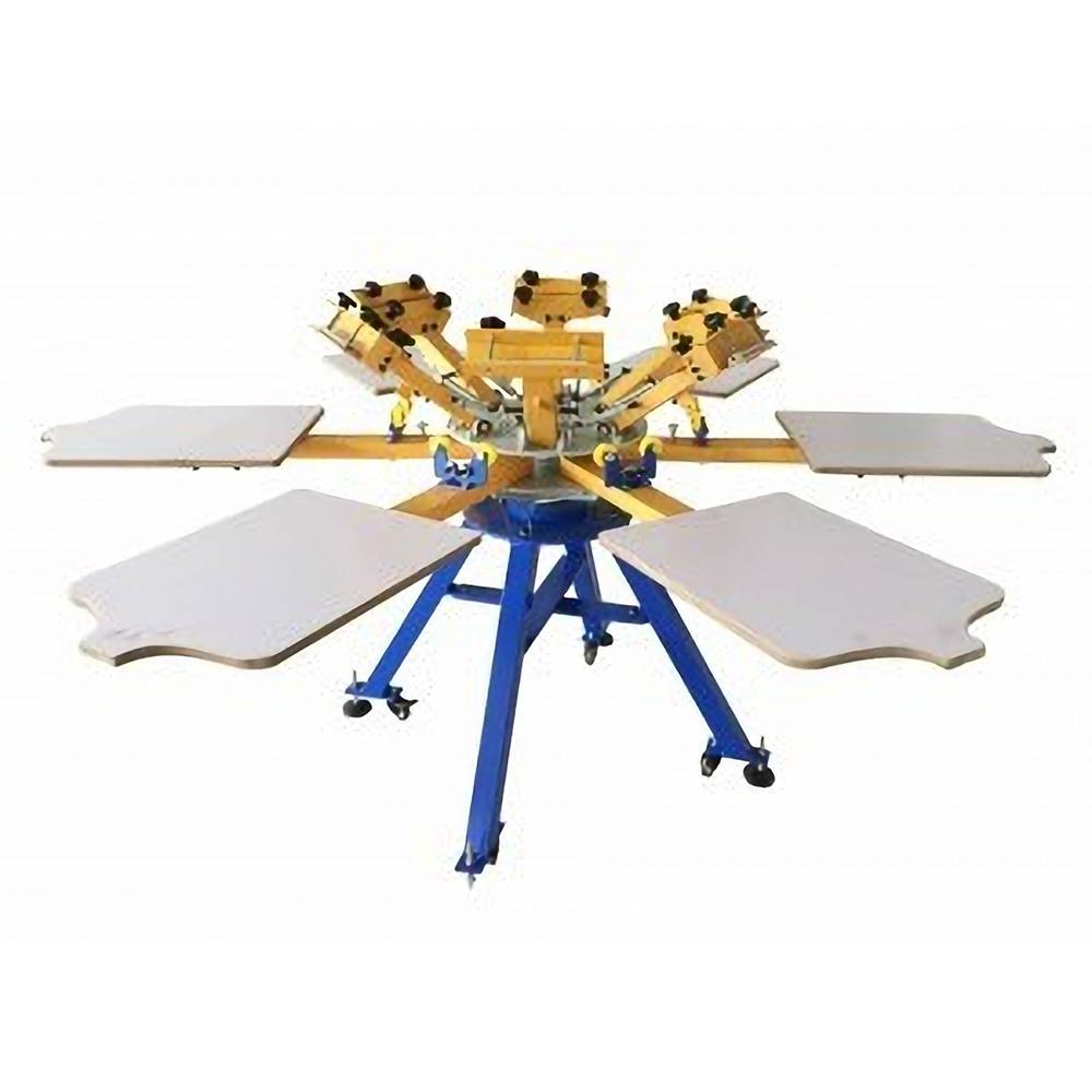 6 color 6 station screen printing machine Featured Image