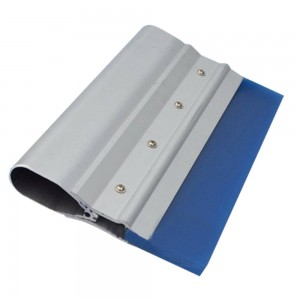 screen printing squeegee with double layer aluminum handle