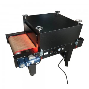 Small screen printing tunner dryer