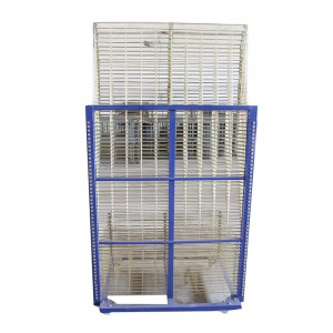 Screen Printing Drying Rack-1000x700mm reinforce mesh size