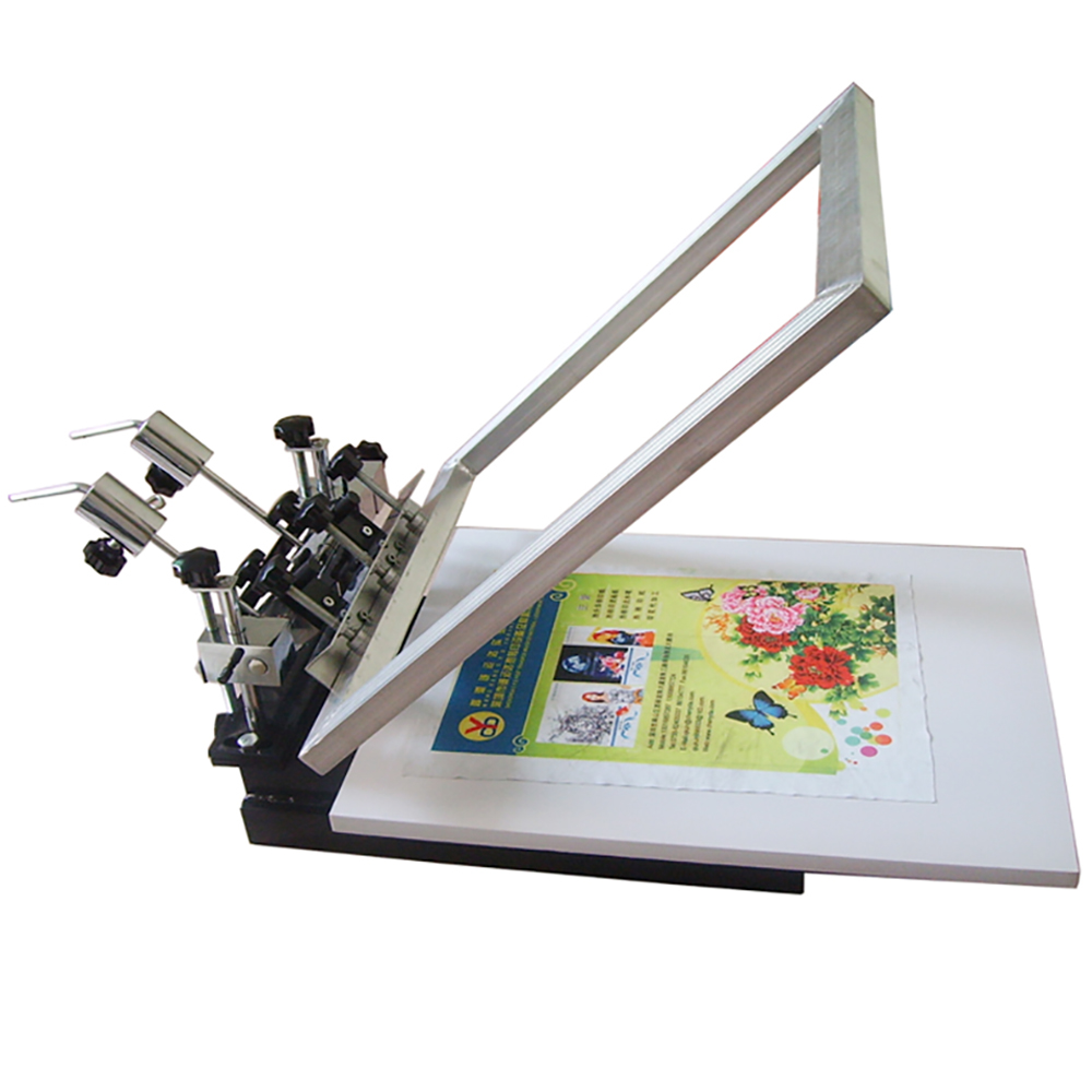 JM-SP01-1C   1color 1 station screen printing machine Featured Image
