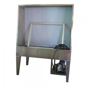JM-WT-A1 washing booth with LED light for cleaning frames