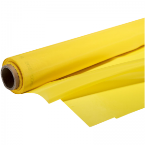 "305 Screen Yellow Mesh 39 Mikroni Thread - 50 ""x1m"