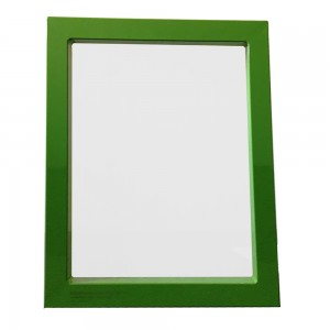 Aluminum screen printing frame-Green paint spraying