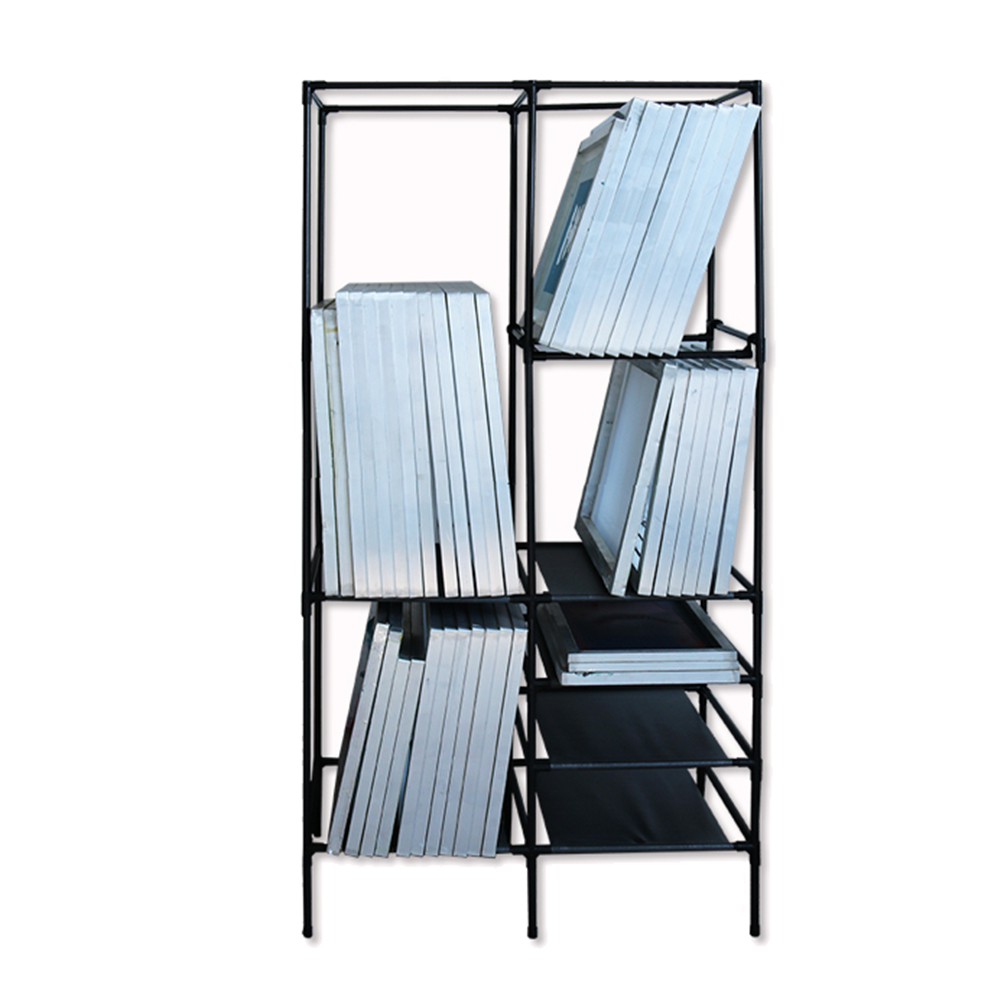Universal four layers screen frame rack Featured Image
