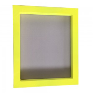 screen printing frame -paint spraying