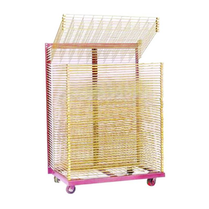 Screen Printing Drying Rack-700*500mm reinforce mesh size Featured Image