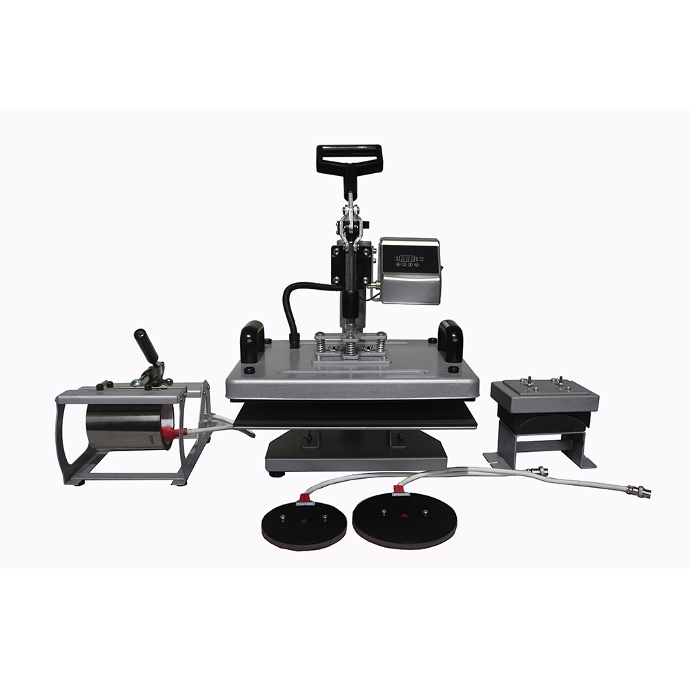 Special Price for 4 Color 2 Station Silk Screen Printing Press -
