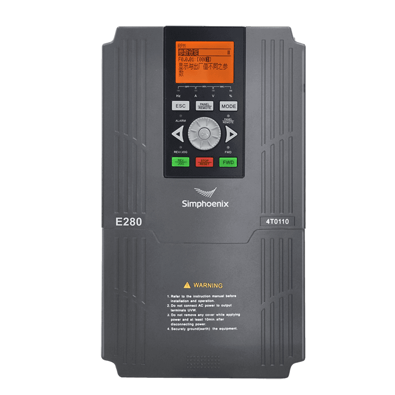 E280 series general vector ac drive detail pictures