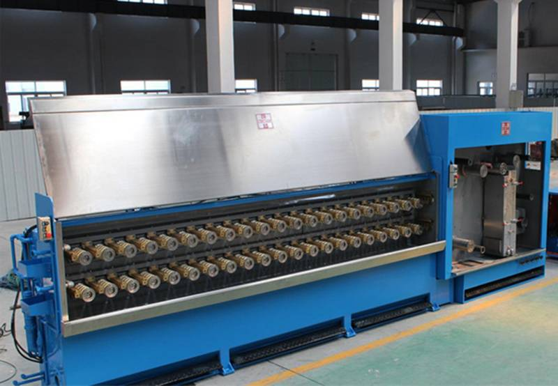 Transformation of Constant Tension Control System on the Dual- frequency Wire Drawing Machine Winding