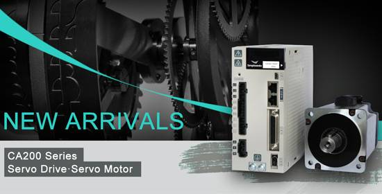 New  Arrivals : CA200 Series Servo Drive
