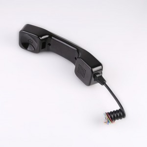 Vandal proof industrial phone handset spares usb payphone handset-A05