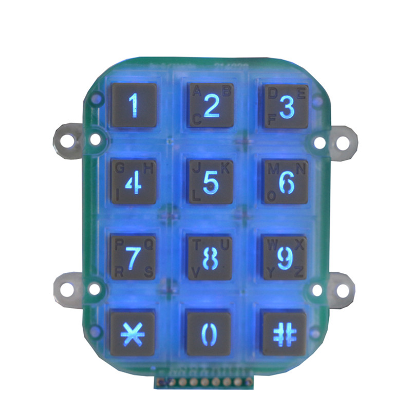 factory low price Stainless Steel Keypad -