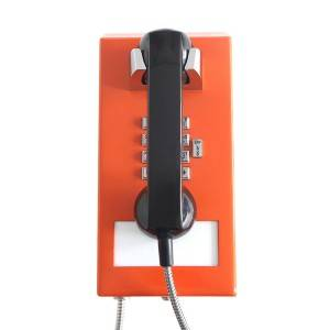 Industrial telephone Robust Metal body phone IP telephone