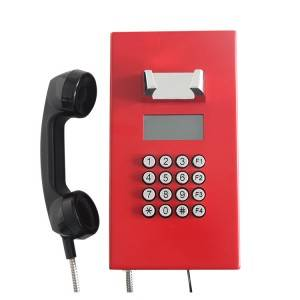 Speed Dial Button Dispatching System Telephone