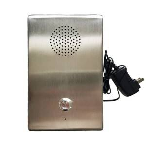 Stainless Steel Emergency Wall mounted Telephone
