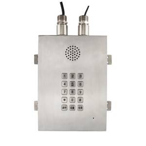 Full keypad Heavy duty Telephone Explosion Proof Weatherproof Telephone