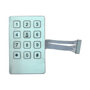 Industrial vending machine keypad-B721