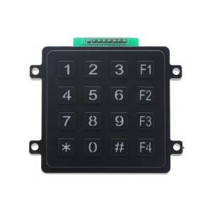 4×4 plastic illuminated truck usage dust proof keypad-B201
