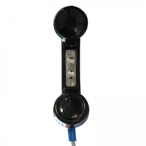 Industrial IP65 Anti-Radiation Carbon Loaded PTT switch handset-A15