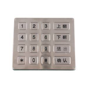 16 keys non-backlight anti explosion telephone keypad-B713