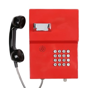 Sos Phone IP54 Telephone Industrial Telephone for Station or Platform Telephone