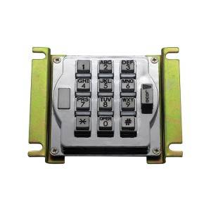 13keys waterproof metal keypad with volume control button for entry system B517