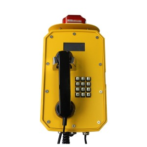 Waterproof Telephone with Warning Light JWAT921