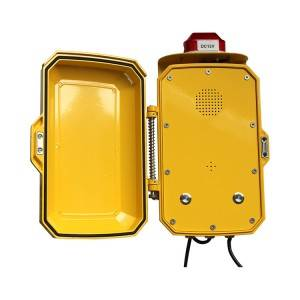Highway emergency telephones for Intercom system