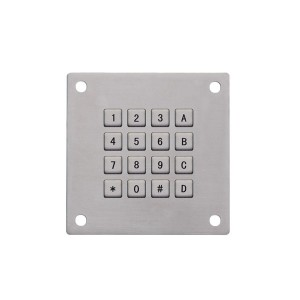 Industrial mechanical keypad-B770