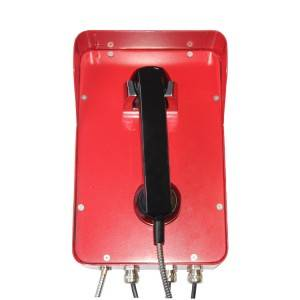 Red Public Industrial Telephone Emergency Waterproof Telephone